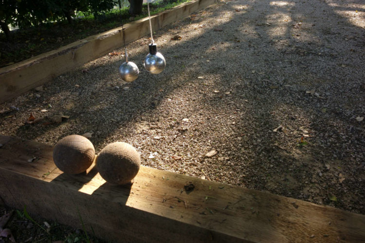 Jardin boulodrome maison_hotes